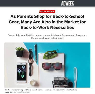 Adweek article Aug 2021