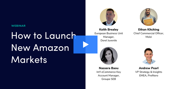 How to launch new Amazon markets Webinar video