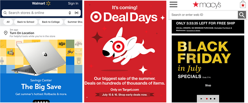 Prime Day - Retail Competition