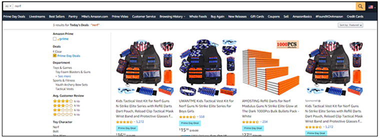 Prime Day 3P example