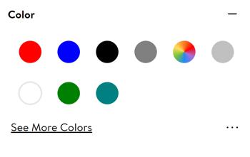 Walmart Marketplace color attributes