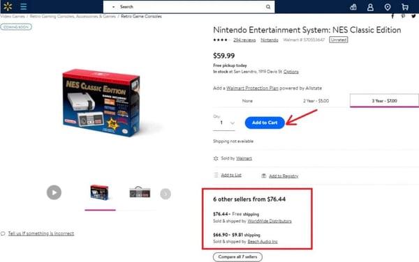 Walmart buy box